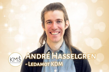 André med text